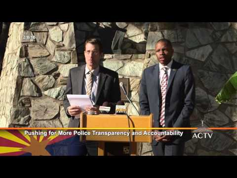 Pushing For More Police Transparency and Accountability