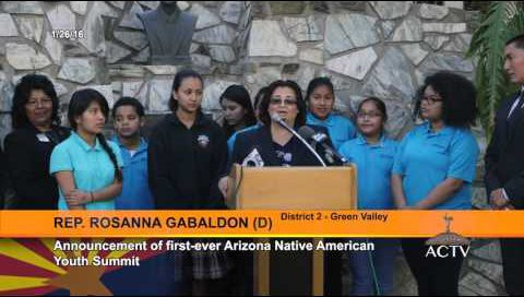 Native American Youth Summit Press Conference